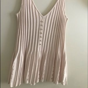Chanel knit top Pale pink Size 44